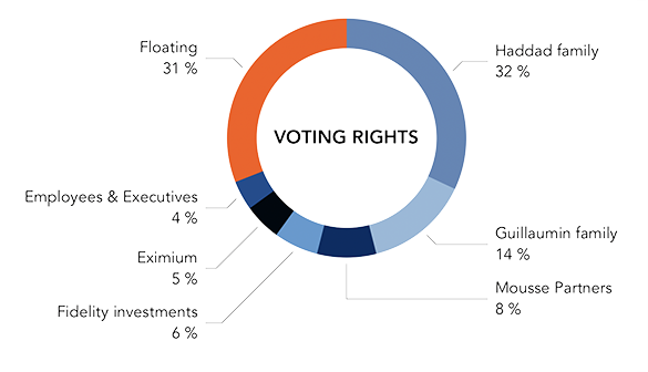 Share ownership voting rights