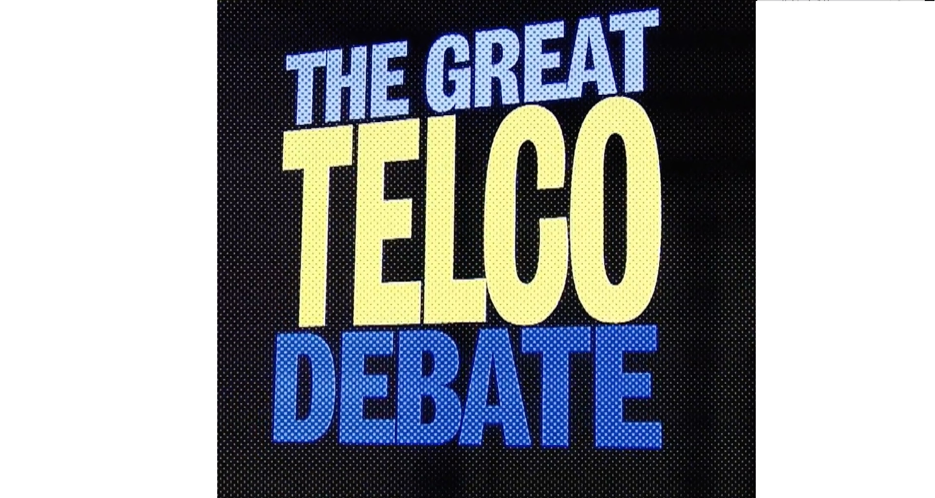 the great telco debate netgem events November 2017